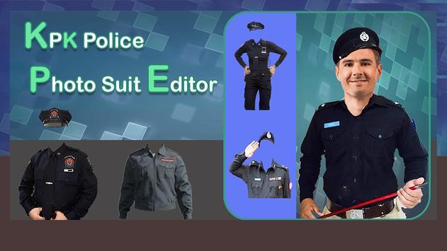 KPK Police Photo Editor- KPK Police Suit Changer screenshot 11