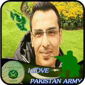Pak Army Photo Editor – Army Photo Frame & Suits icon