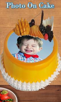 Photo on Cake - Cake Photo Editor - Name On Cake screenshot 3