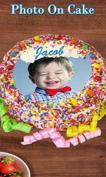 Photo on Cake - Cake Photo Editor - Name On Cake screenshot 5