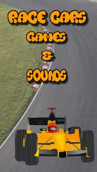 car race games for kids free poster