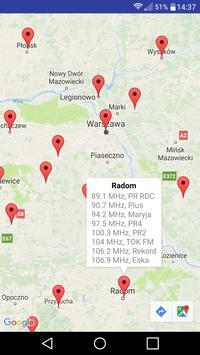 Nadajniki FM v2 apk screenshot