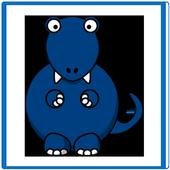 Dinosaur Match Game Free icon