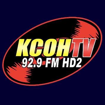 KCOH Radio poster