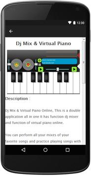 Dj Mixer&Virtual Electro Piano screenshot 2