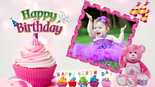 Birthday Photo Frames HD poster