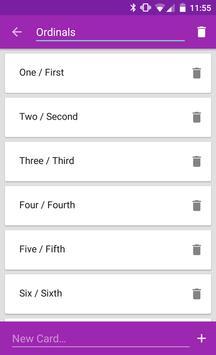Flashcard Decks screenshot 2