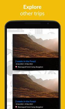 TripsNirvana-Travel Plan Trips apk screenshot