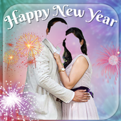 New year Couple Photo Suite 2018 icon