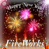 New year Firework 2018 icon