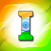Indian Flag Letter Wallpaper icon