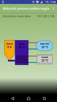 Wskaźnik poziomu pelletu/węgla screenshot 1