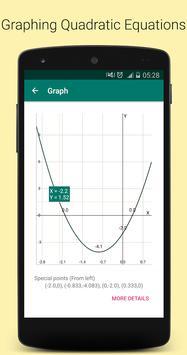 Quadratic Equation Solver PRO स्क्रीनशॉट 4