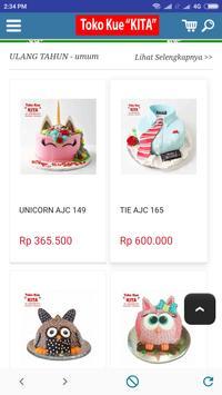 TOKO KUE KITA - Online Cake Pontianak Indonesia screenshot 5