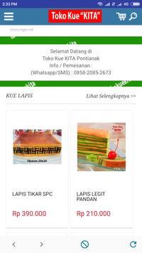 TOKO KUE KITA - Online Cake Pontianak Indonesia poster