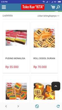 TOKO KUE KITA - Online Cake Pontianak Indonesia screenshot 1