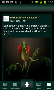 Poison Diaries apk screenshot