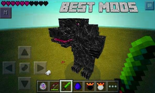 Mods for Minecraft PE Orespawn poster