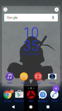 Uchiha Itachi - Xperia Theme screenshot 2