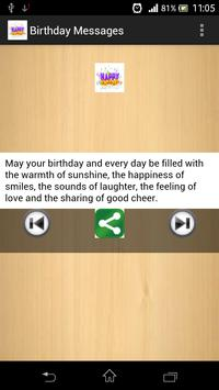 Birthday Messages poster
