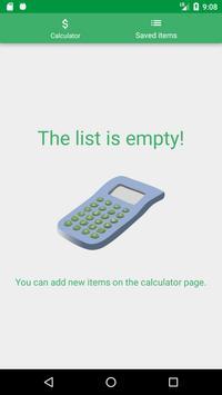 Net Gross price calculator apk screenshot