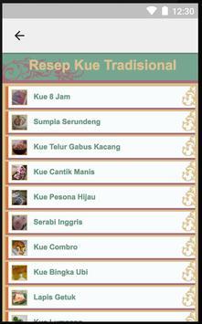 Aneka Resep Kue Tradisional screenshot 1