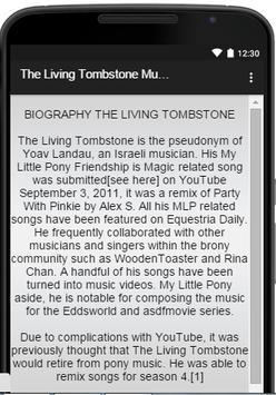 The Living Tombstone Music screenshot 2