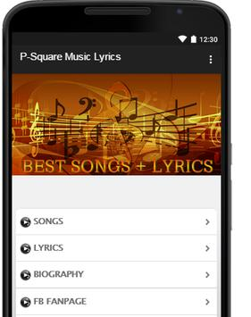 P-Square Music Lyrics poster