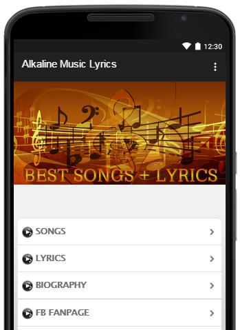 Alkaline Music Lyrics for Android - APK Download
