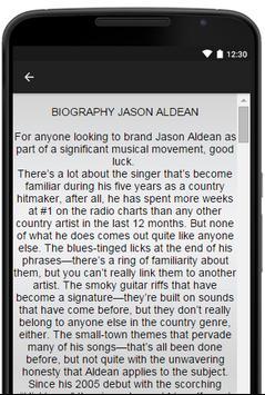 Jason Aldean Music Lyrics screenshot 2