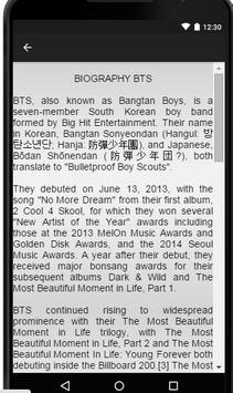 BTS Music Lyrics apk screenshot