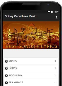 Shirley Carvalhaes Music Lyric poster