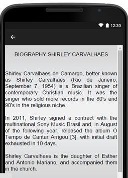 Shirley Carvalhaes Music Lyric screenshot 2