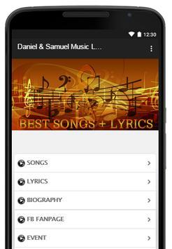 Daniel & Samuel Music Lyrics poster