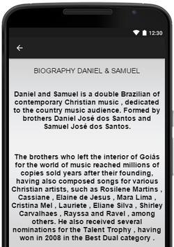 Daniel & Samuel Music Lyrics apk screenshot