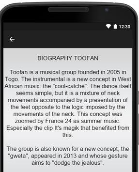 Toofan Music Lyrics apk screenshot