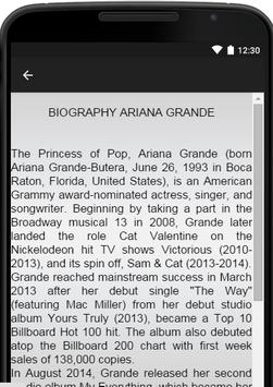 Ariana Grande Music Lyrics screenshot 2