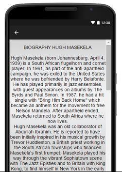 Hugh Masekela Music Lyrics apk screenshot