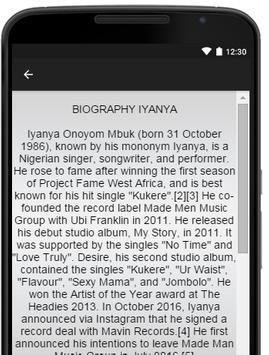Iyanya Music Lyrics screenshot 2