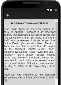 John Anderson Music Lyrics screenshot 2