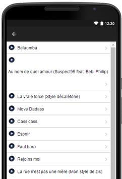 Music-Lyrics Bebi Philip apk screenshot