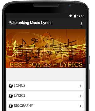 Patoranking Music Lyrics poster