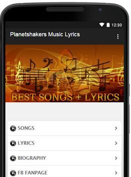 Planetshakers Music Lyrics poster