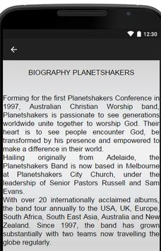 Planetshakers Music Lyrics apk screenshot
