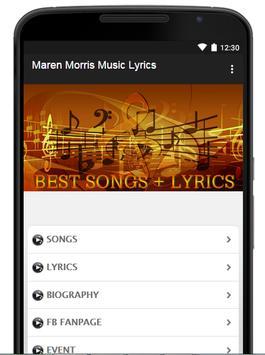 Maren Morris Music Lyrics poster