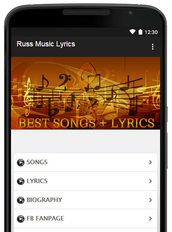 Russ Lyrics for Android - APK Download