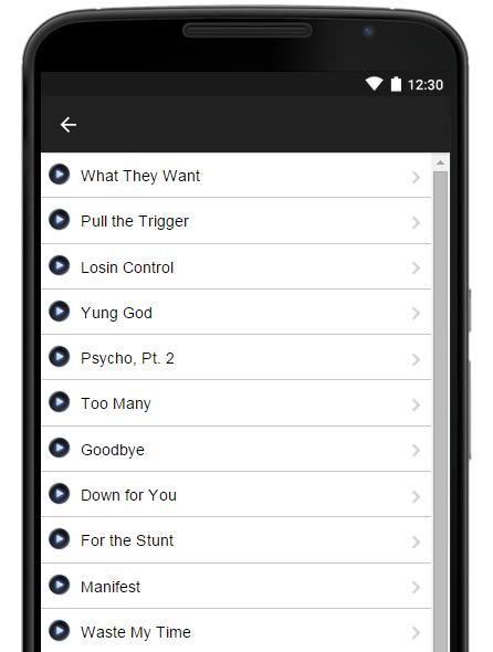 Russ Music Lyrics for Android - APK Download