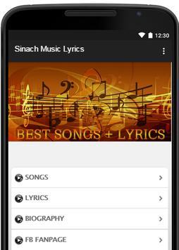 Sinach Music Lyrics poster