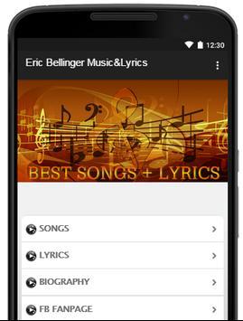 Eric Bellinger Music Lyrics poster