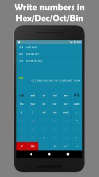 Programmer's calculator - BitCalculator скриншот 1